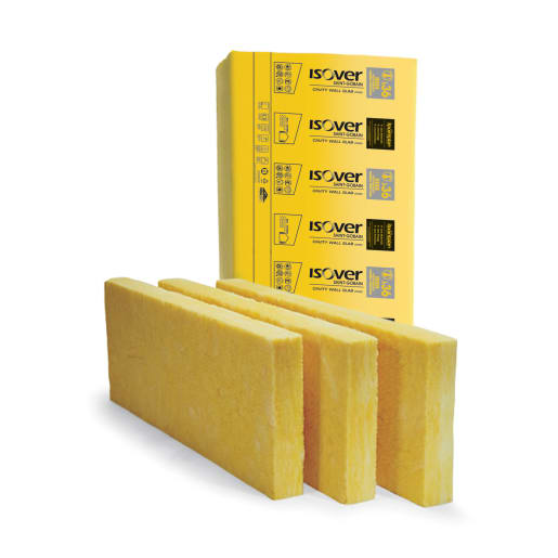 Isover Cavity Wall Slab 36, 1200 x 455 x 125mm Pack of 8