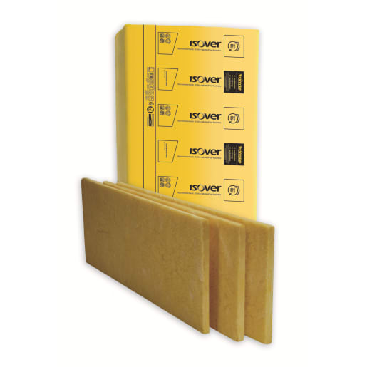 Isover RD Acoustic Floor Slab 1200 x 625 x 25mm Pack of 6