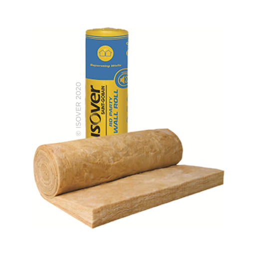 Isover RD Party Wall Roll 6m x 455mm x 100mm Pack of 2