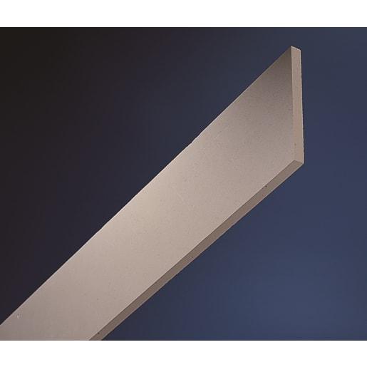 Gyproc Plaster Cornice Strip 2400 x 100 x 12.5mm