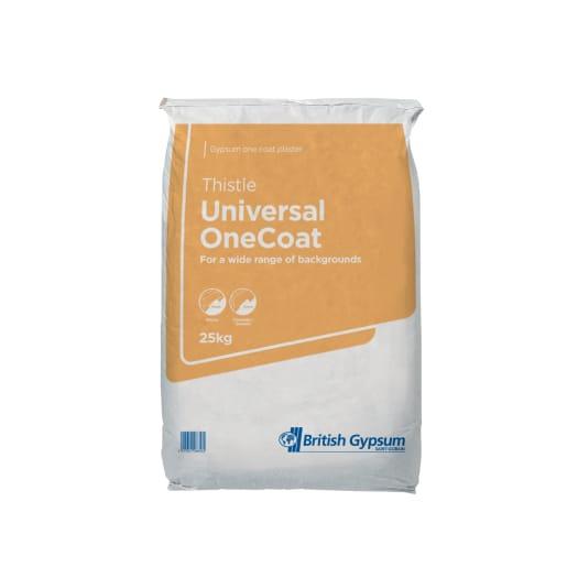 Thistle Universal OneCoat Plaster 25kg Bag