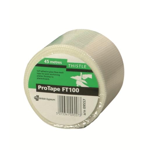 Gyproc Thistle ProTape FT100 Fibre Tape 45m x 100mm