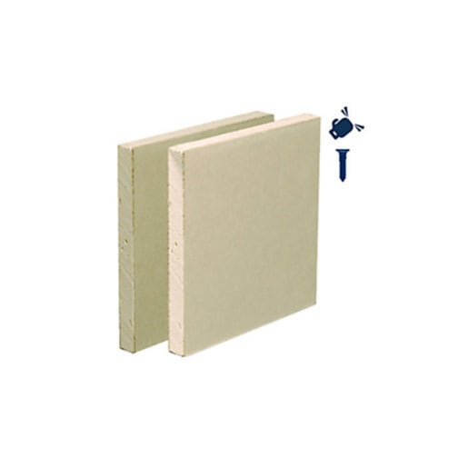 Gyproc Habito Plasterboard Tapered Edge 3000 x 1200 x 12.5mm