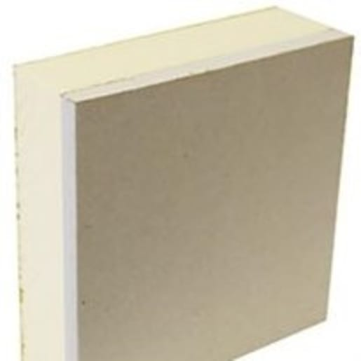 Gyproc ThermaLine PIR Board Tapered Edge 2400 x 1200 x 63mm