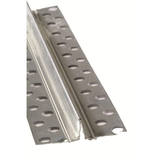 Gyproc Control Joint 3084 x 47mm Chrome