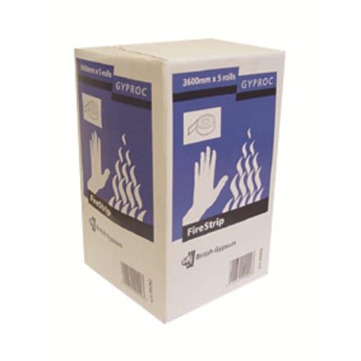 Gyproc FireStrip Intumescent Gap Sealer 3600 x 25 x 3mm Box of 5