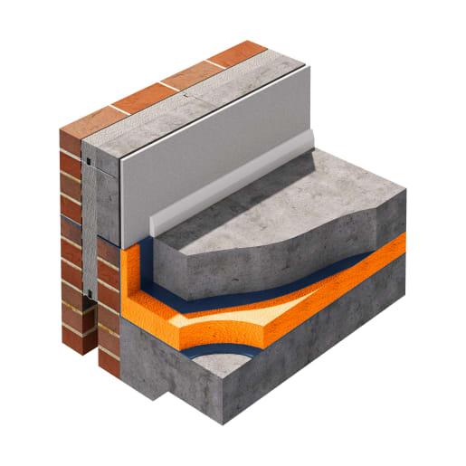 Jablite Jabfloor 70 Floor Insulation 2400 x 1200 x 75mm
