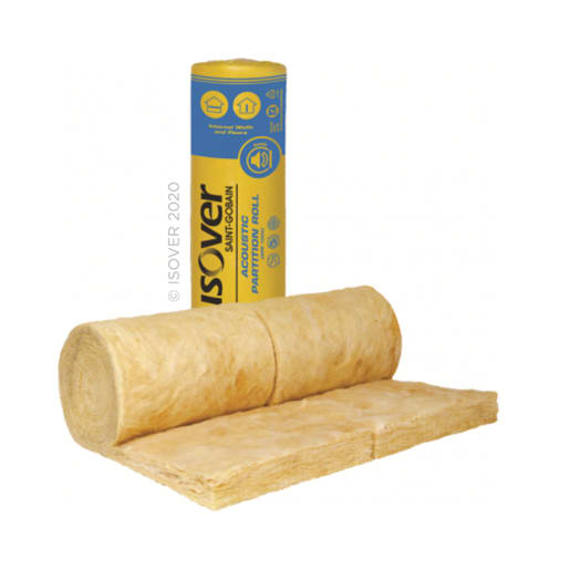 ISOVER APR Acoustic Partition Roll 13M x 2 x 600mm x 50mm Pack of 2