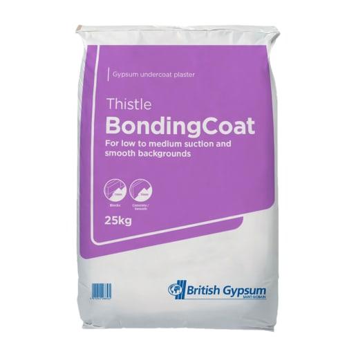 British Gypsum Thistle Bonding Coat Plaster 25kg
