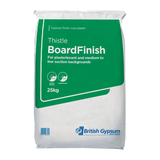 British Gypsum Thistle BoardFinish Plaster 25kg