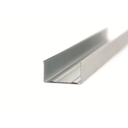 Gypframe Folded Edge Floor and Ceiling Channel 3.6m x 50mm