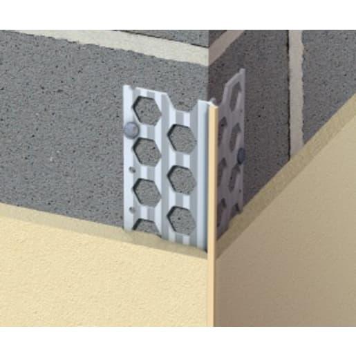Renderplas Corner Bead 2.5m x 10mm White