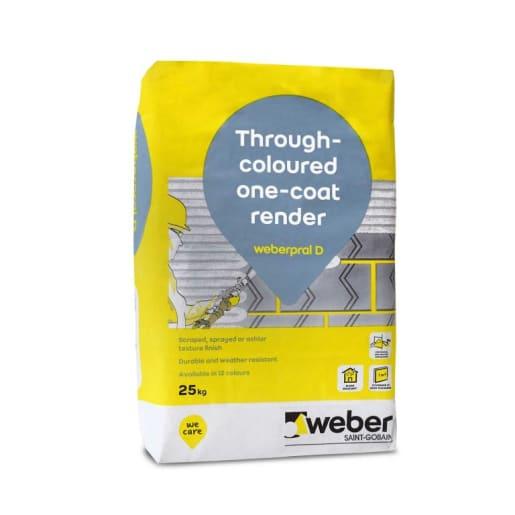 Weberend Aid Stipple Render 25kg Grey