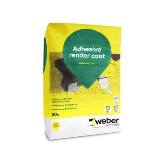 Weberend LAC Adhesive Render Coating 20kg