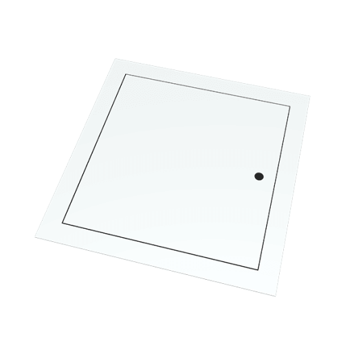 Palco Non Fire Rated Metal Access Panel 600 x 600mm White