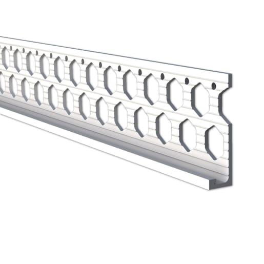 Renderplas Stop Bead 2.5m x 10mm White