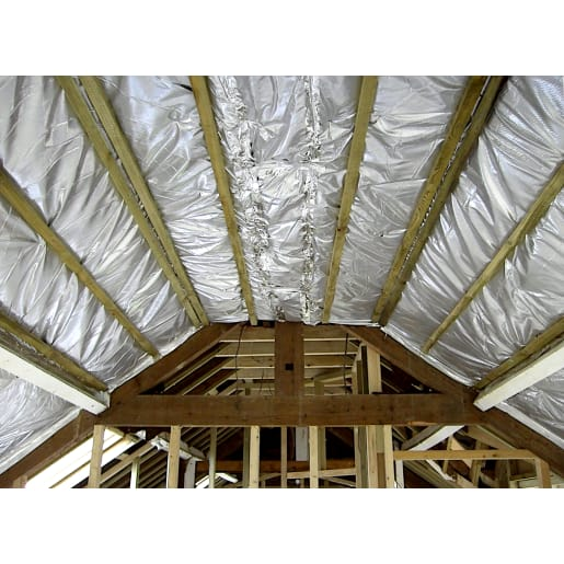 TLX Silver Thinsulex Multifoil Insulating Vapour Barrier 10 x 1.2m