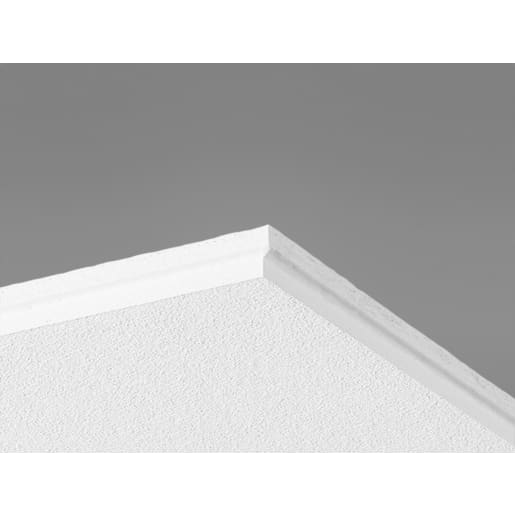 Ecophon Gedina ET24 Ceiling Tile 600 x 600 x 15mm Box of 26 White 500