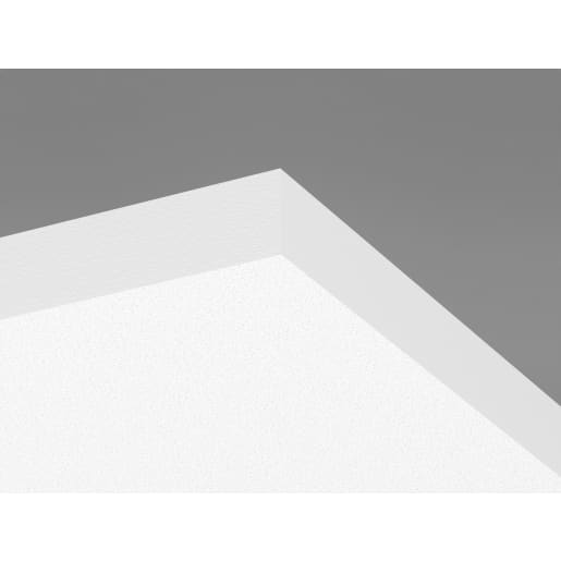 Ecophon Solo Square Ceiling Tile 1200x1200x40mm Box of 4 White Frost