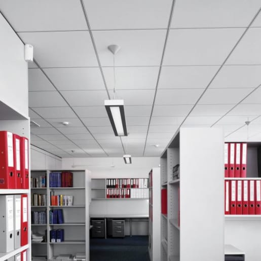 Ultima+ dB MicroLook 90 Ceiling Tile 600 x 600 x 19mm Box of 10