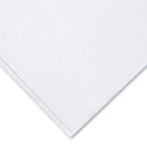 Bioguard Acoustic Board Ceiling Tile 600 x 600 x 17mm Box of 14